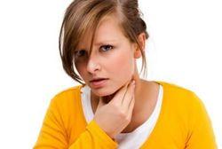 Опухает горло трудно дышать